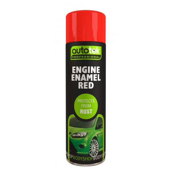 Engine Enamel – Red – 500ml
