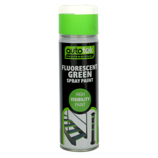 Aerosol Paint – Fluorescent Green – 500ml