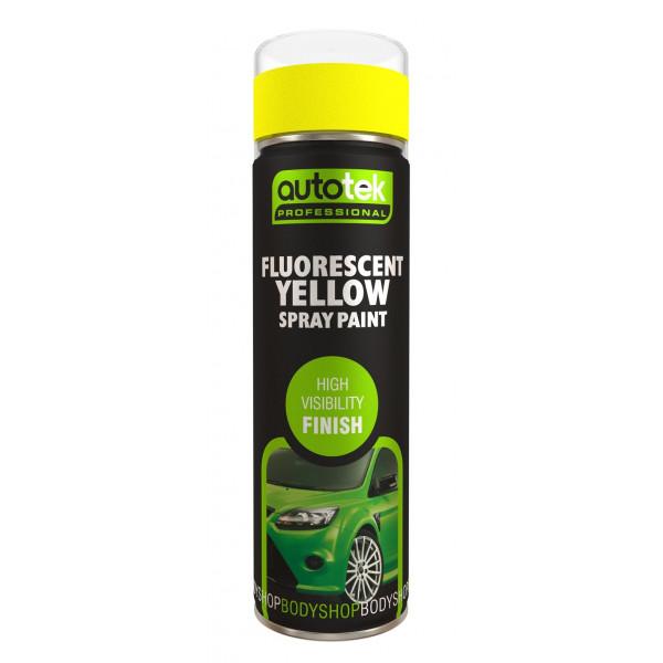 Aerosol Paint – Fluorescent Yellow – 500ml