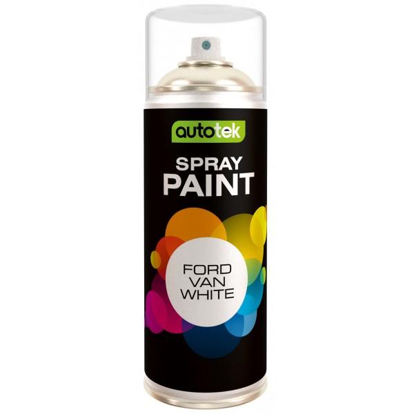 Aerosol Paint – Ford Van White – 400ml