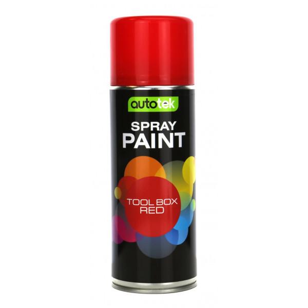 Aerosol Paint – Gloss Tool Box Red – 400ml