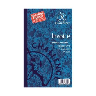 Duplicate Invoice Books with VAT/Tax – 100 Sets – Pack of 5