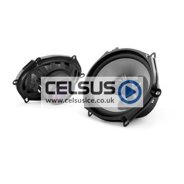 C2 5″ x 7″ / 6″ x 8″ (125 x 180 mm) Coaxial Speaker System