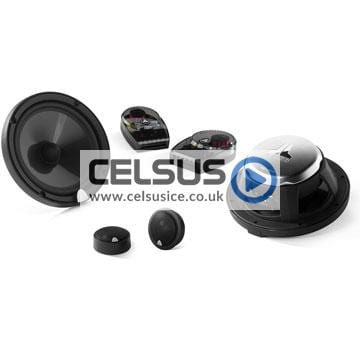 C3 6.5″ (165 mm) Convertible Component/Coaxial Speaker System