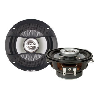 Speakers – 3-Way Coaxial with Grills – 6.5in.