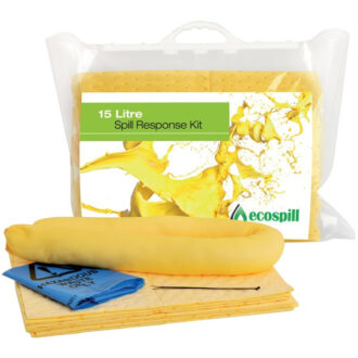 Chemical Clip Top Spill Kit – 15 Litre