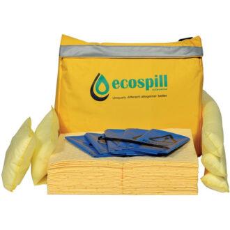 Chemical Spill Kit in Vinyl Holdall – 50 Litre