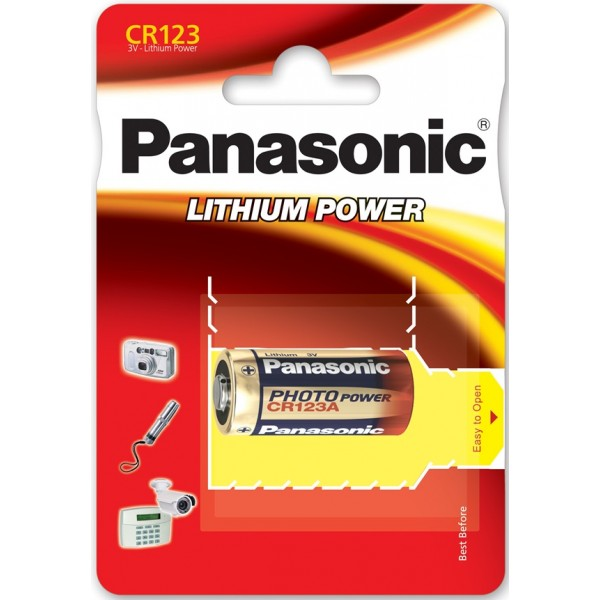 CR123A 3V Lithium Battery – Box of 10