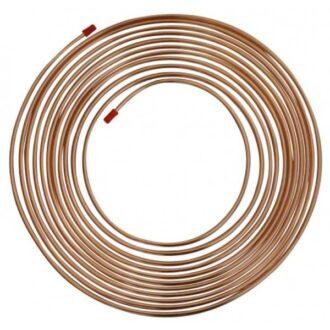 Copper Brake Pipe – 1/4in. x 25ft x 22g
