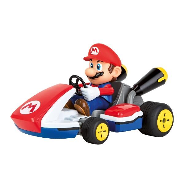 Carrera 1:16th Mario Kart 8 RC Mario With Sound