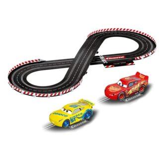 Carrera Evolution 1:32 Disney Cars 3 Slot Car Set
