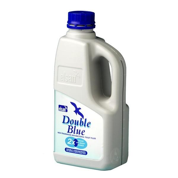 Toilet Fluid – Double Blue – 1 Litre