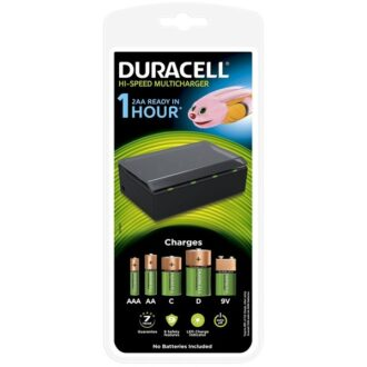 Hi-Speed Universal Multi-Battery Charger – AA, AAA, C, D & 9V