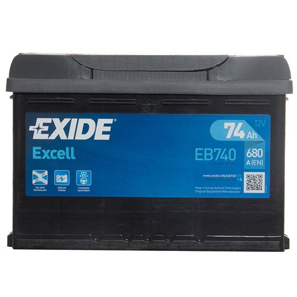 Exide Excel 096 Car Battery – 3 Year Guarantee