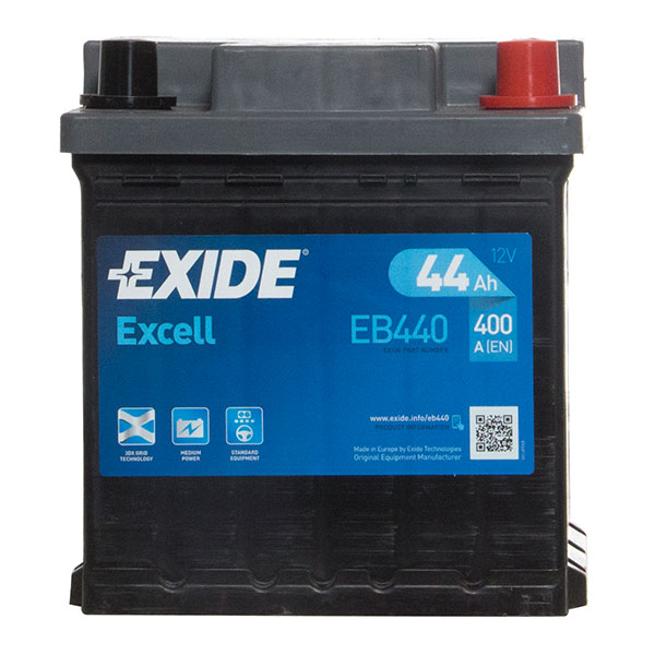 Exide Excell Battery 202 3 Year Guarantee