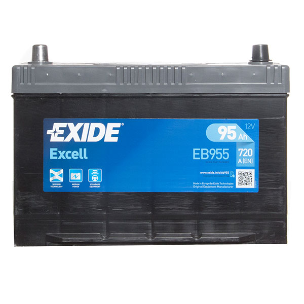 Exide Excell Battery 334 3 Year Guarantee