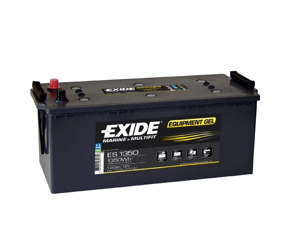 Exide Gel Battery G120 2 Year Guarantee