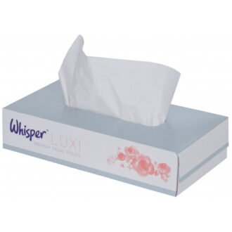 2 Ply White Facial Tissues – 36 Boxes of 98 Sheets