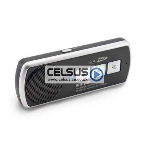 Caliber Bluetooth Visor Mount Handsfree Kit