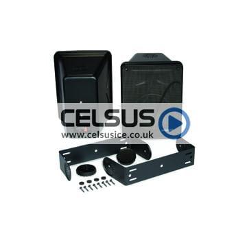 KB 6.5″ (165 mm) Enclosed Component Speaker System – 8 Ohm – Black