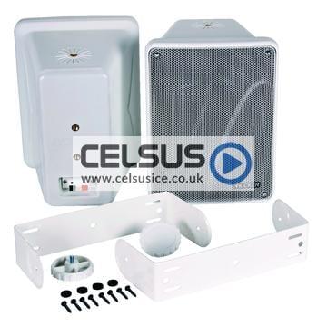 KB 6.5″ (165 mm) Enclosed Component Speaker System – 8 Ohm – White