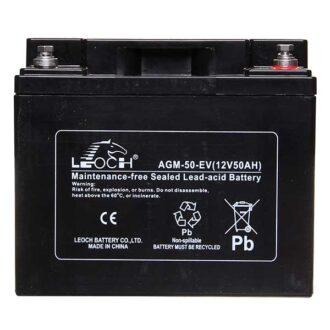 Leoch VRLA Sealed Battery – 12V 85Ah
