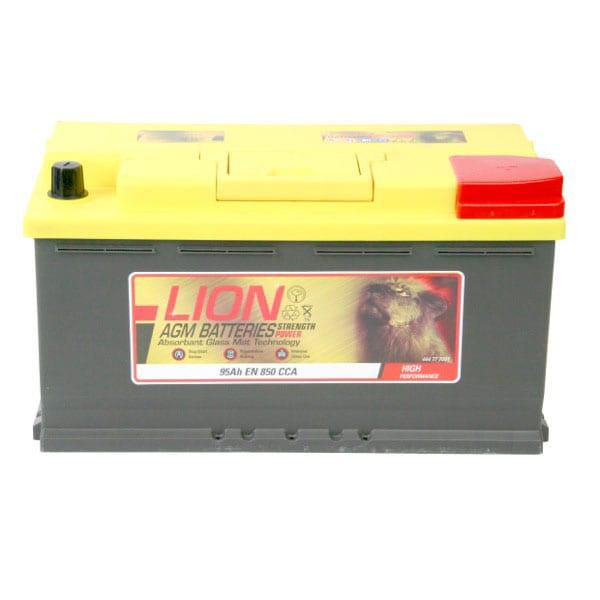 Lion 019 AGM Battery 3 Year Guarantee