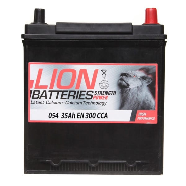 Lion 054 Car Battery – 3 Year Guarantee