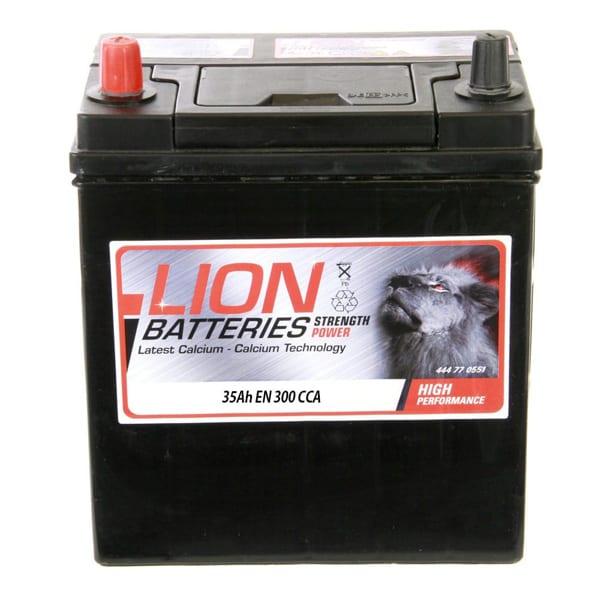 Lion 055 Car Battery – 3 Year Guarantee