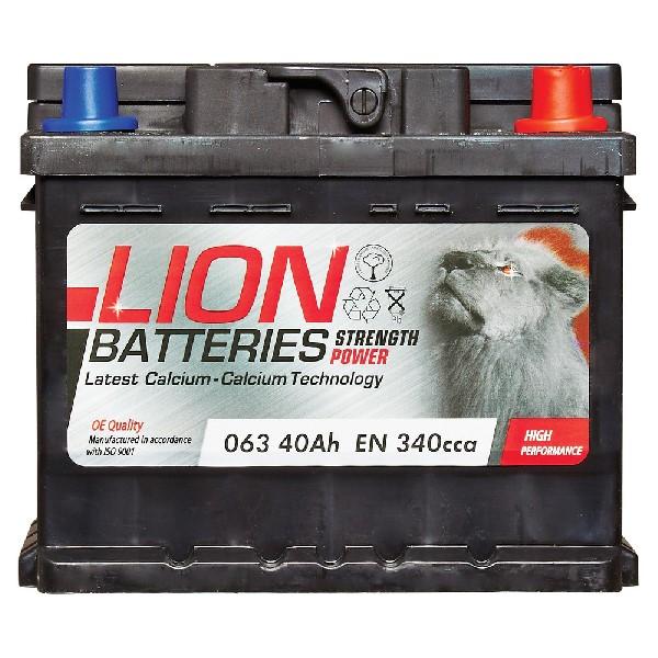 Lion 063 Battery – 3 Year Guarantee