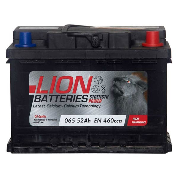 Lion 065 Battery – 3 Year Guarantee