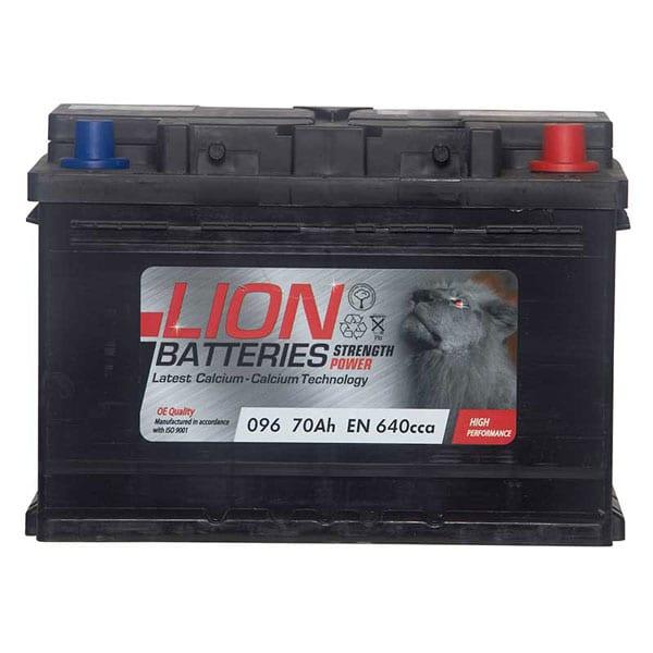 Lion 096 Battery – 3 Year Guarantee