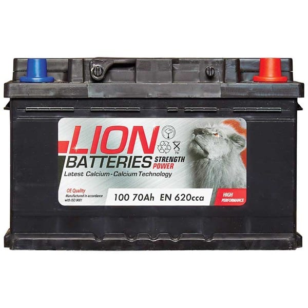 Lion 100 Battery – (70Ah) 3 Year Guarantee