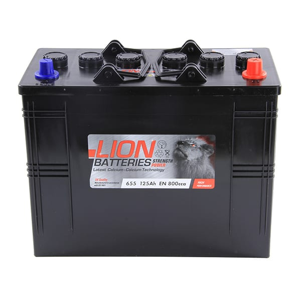 Lion Commercial Battery 655 – 2 Year Guarantee