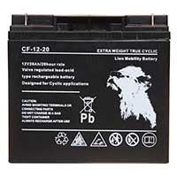 Lion VRLA 12V 20AH Sealed Battery (Threaded)