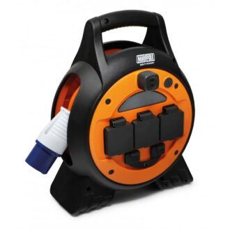 3 Way Mobile Mains Roller Power Unit with Twin USB