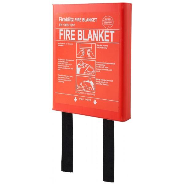 Fire Blanket in Hard Case – 1 x 1m