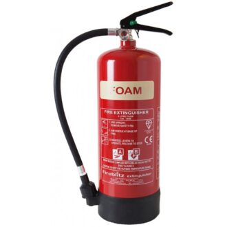 AFFF Foam Fire Extinguisher with Gauge – 6 Litre