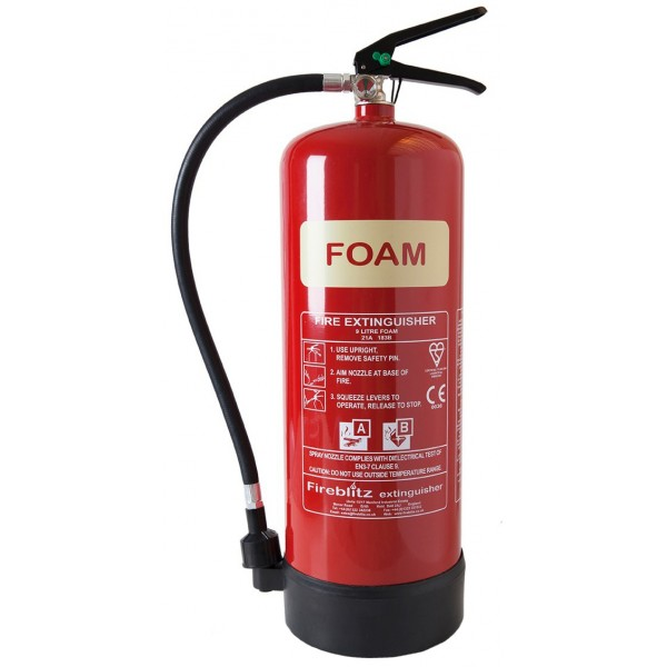 AFFF Foam Fire Extinguisher with Gauge – 9 Litre
