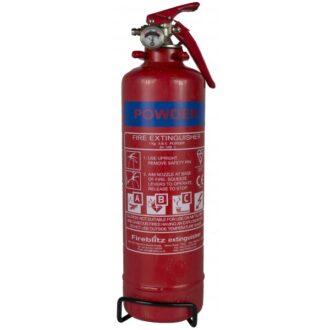 ABC Dry Powder Fire Extinguisher with Gauge – 2kg