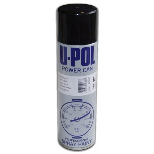 Powercan – Satin Black – 500ml