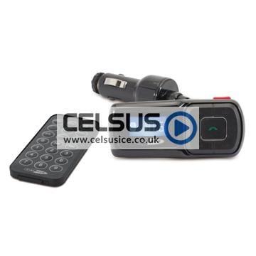 Caliber FM Transmitter with Bluetooth Technology