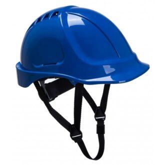 Endurance Vented Safety Helmet – Blue