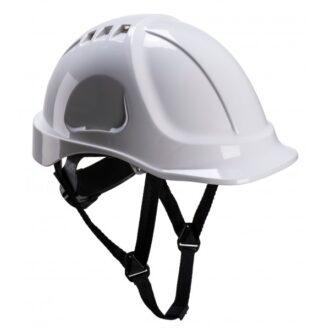 Endurance Vented Safety Helmet – White