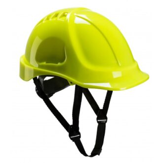 Endurance Vented Safety Helmet – Yellow