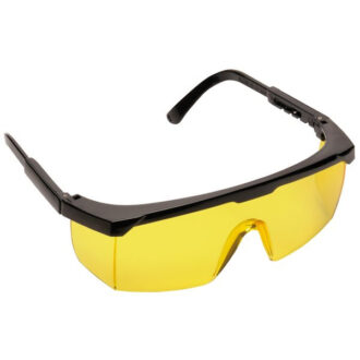 Classic Safety Eye Glasses – Amber Lens
