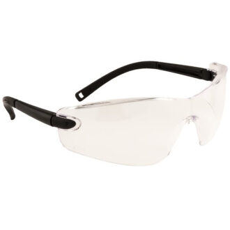 Profile Spectacle – Black Frame – Clear Lens