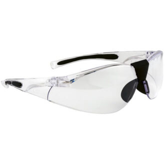 Lucent Spectacles – Clear/Black Frame – Clear Lens
