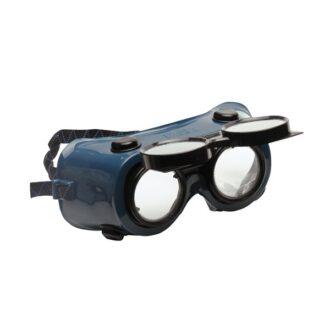 Flip-Up Gas Welding Goggles – Black