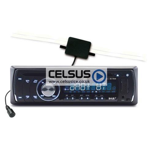 Caliber DAB Tuner, FM/AM Tuner, USB/SD Reader, AUX-Input & Bluetooth